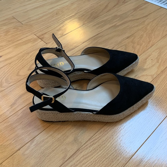 ASOS espadrille pointed toe sandal